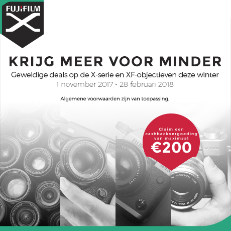 FUJIFILM Winter Promotion 2017/18 - NL